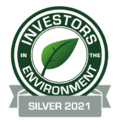 Investors in the Environment award for The Webinar Vet - Silver 2021
