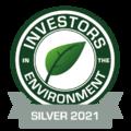 Investors in the Environment award for The Webinar Vet - Silver 2021